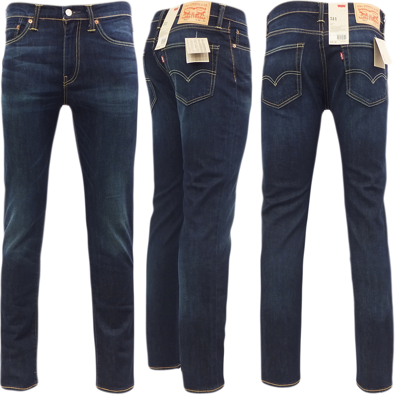 levi strauss mens 511 slim fit jean tapered leg biology. Black Bedroom Furniture Sets. Home Design Ideas