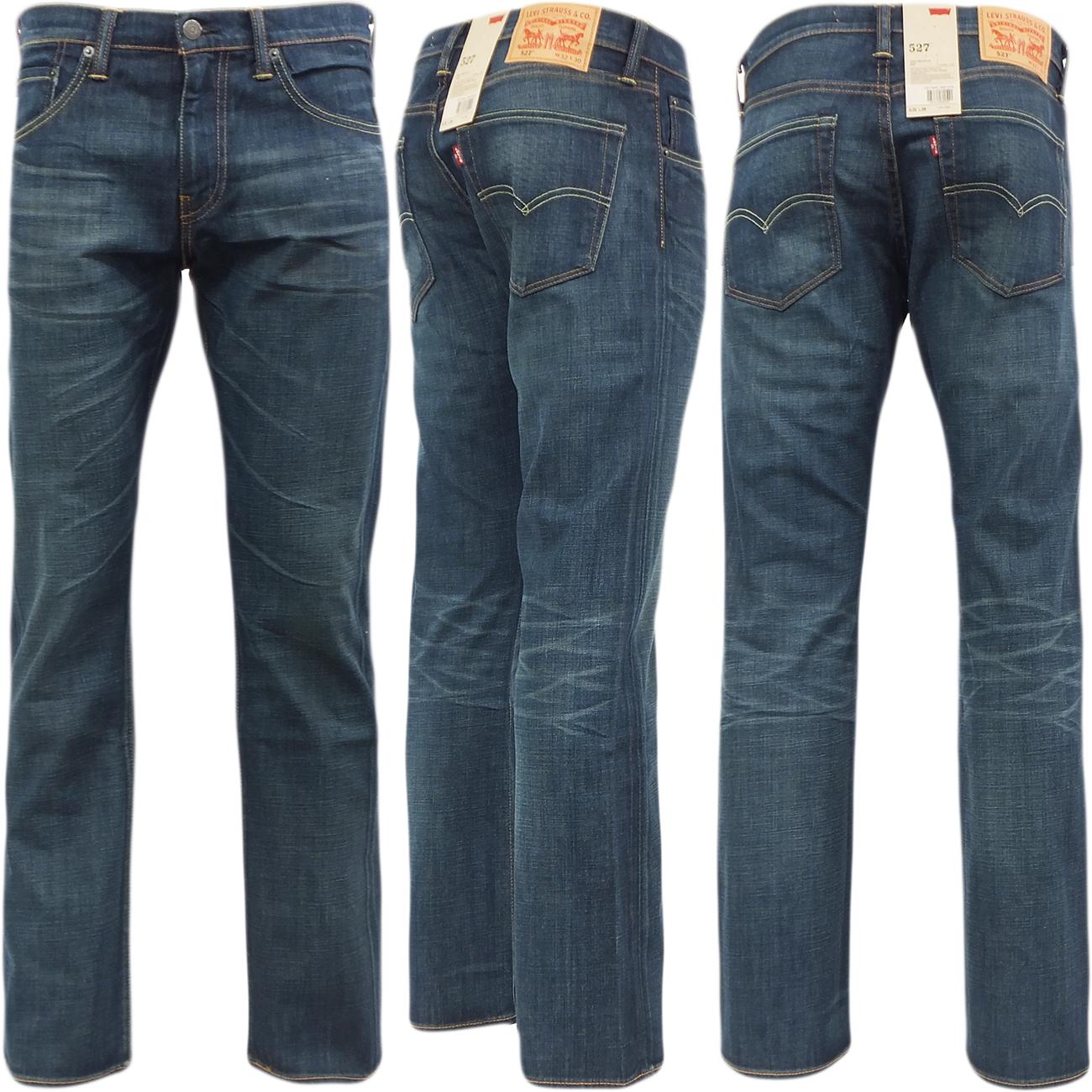 levi strauss 527 bootcut jean 39 explorer 39 denim pant jeans mr h menswear. Black Bedroom Furniture Sets. Home Design Ideas