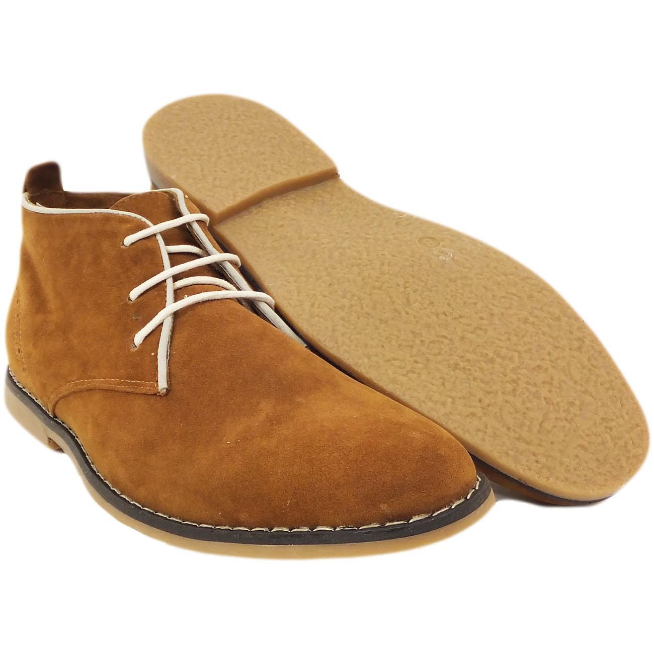 mens boots voeut desert boot lace up shoe ebay