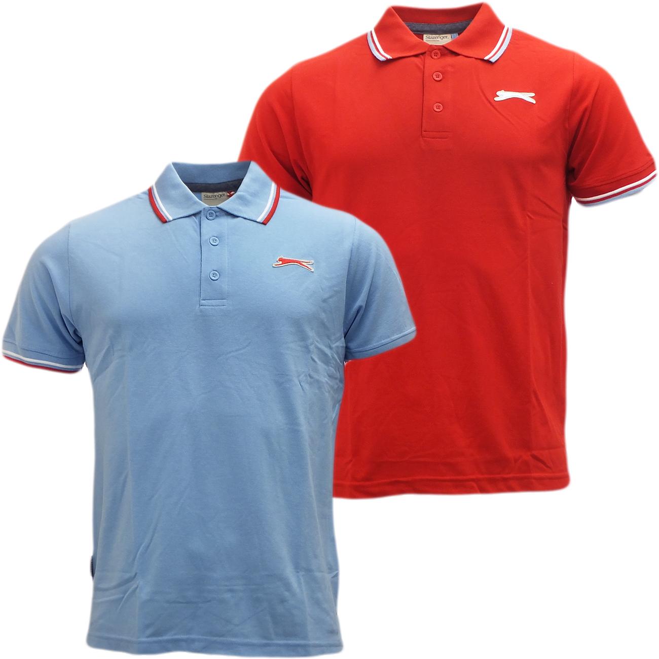 Slazenger plain polo shirt mens polos short sleeve for Best short sleeve shirts