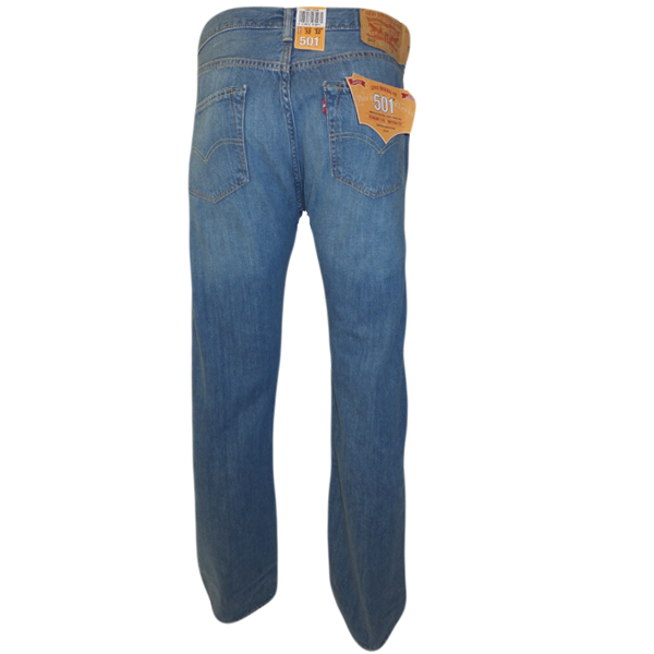 Womens Levi 501 Button Fly Jeans