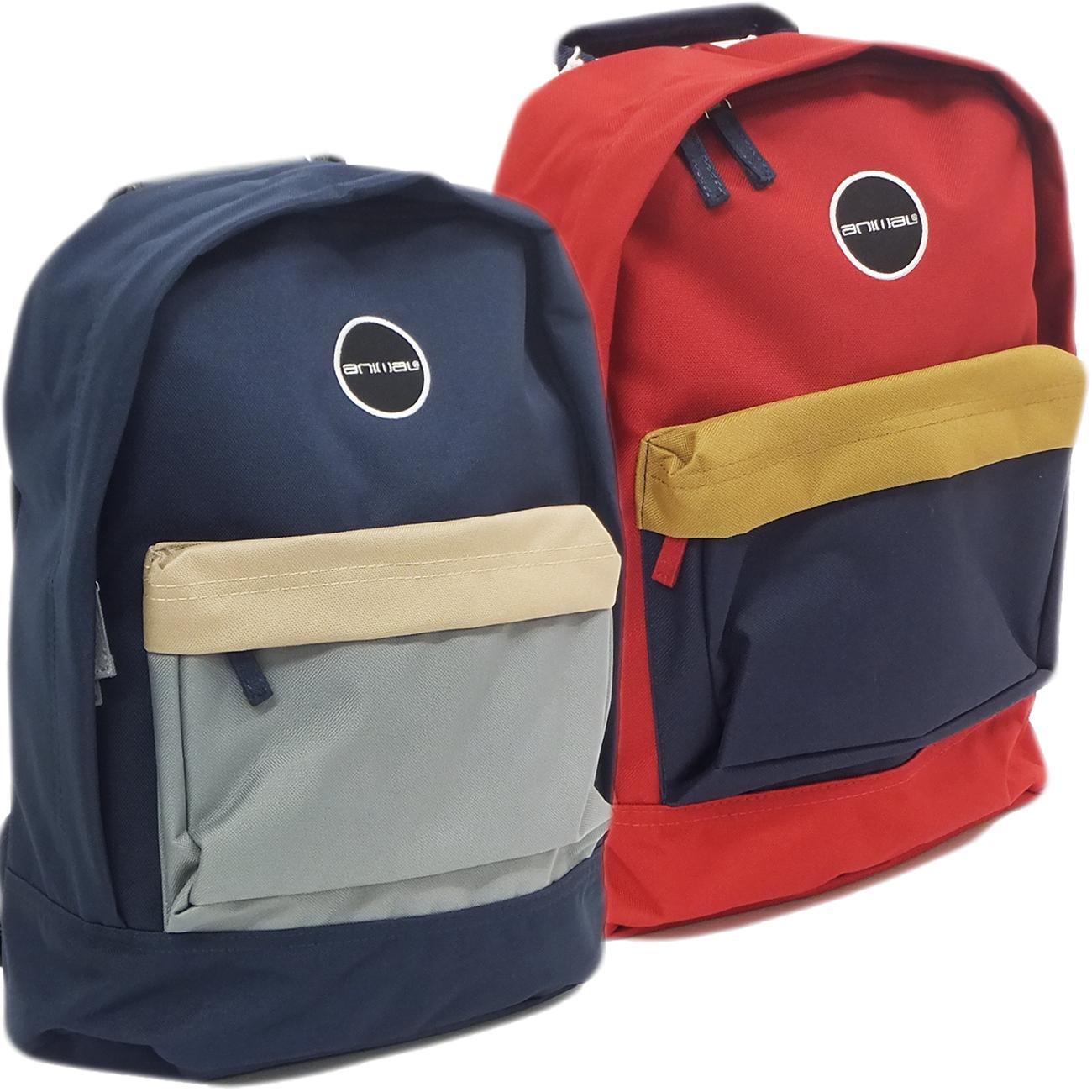 Gym Bag For Work: Mens Animal Rucksack Bag / School