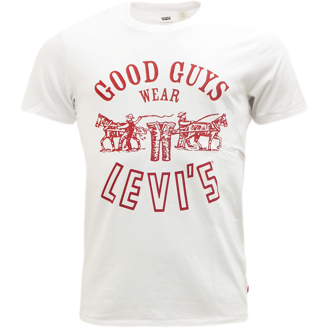 mens levi strauss t shirt 39 good guys wear levi 39 s 39 ebay. Black Bedroom Furniture Sets. Home Design Ideas