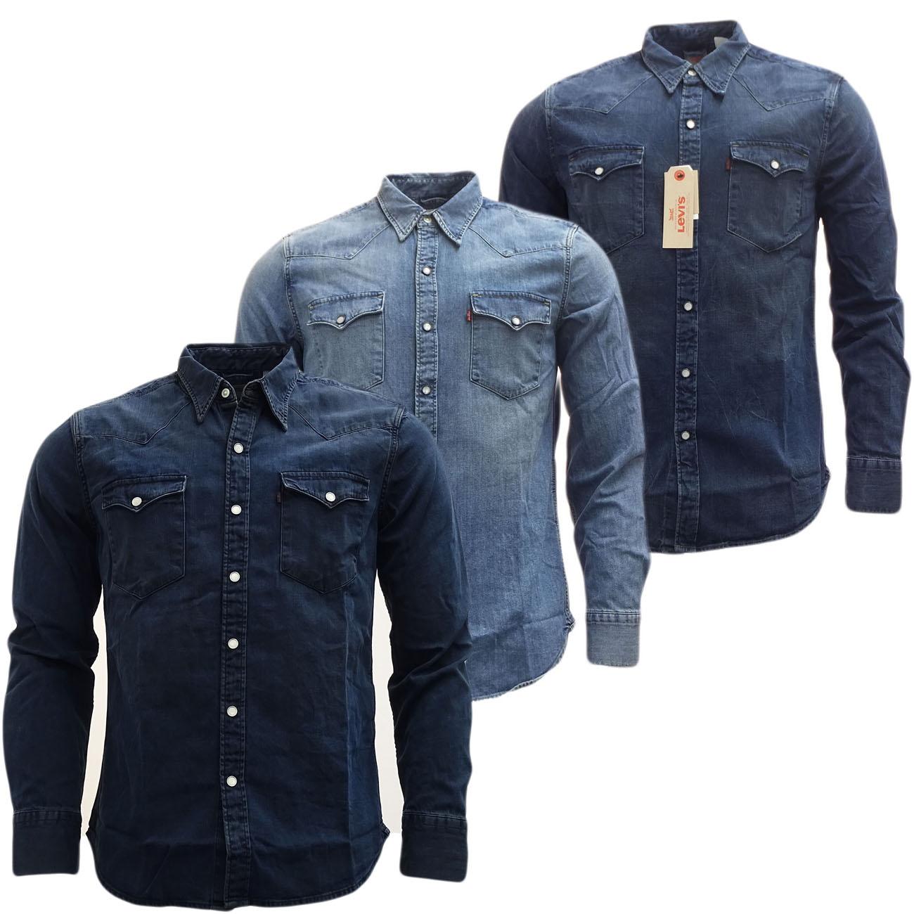 mens shirts levi strauss long sleeve denim shirt shirts