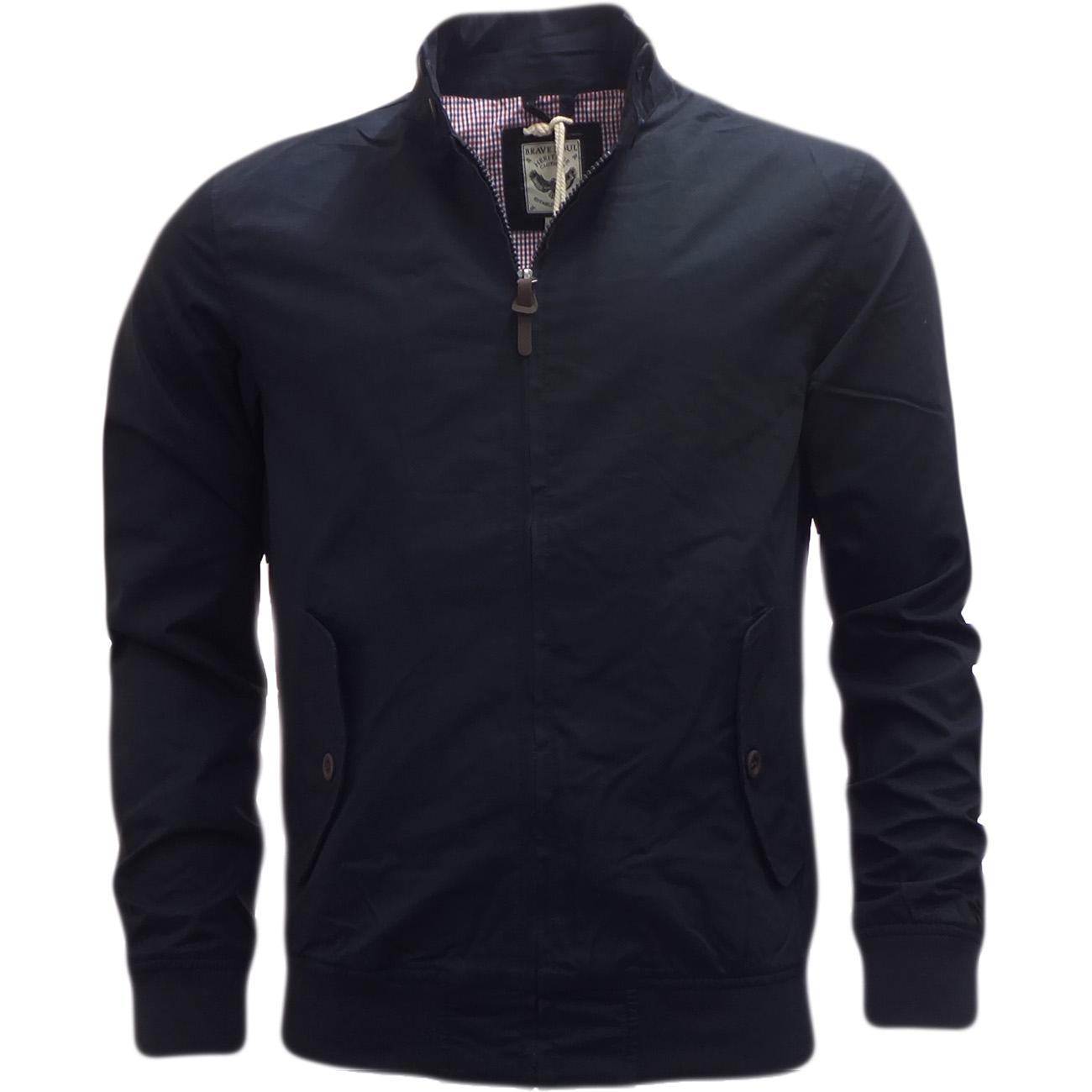 brave soul harrington jacket 39 reactive 39 sale mr h menswear. Black Bedroom Furniture Sets. Home Design Ideas