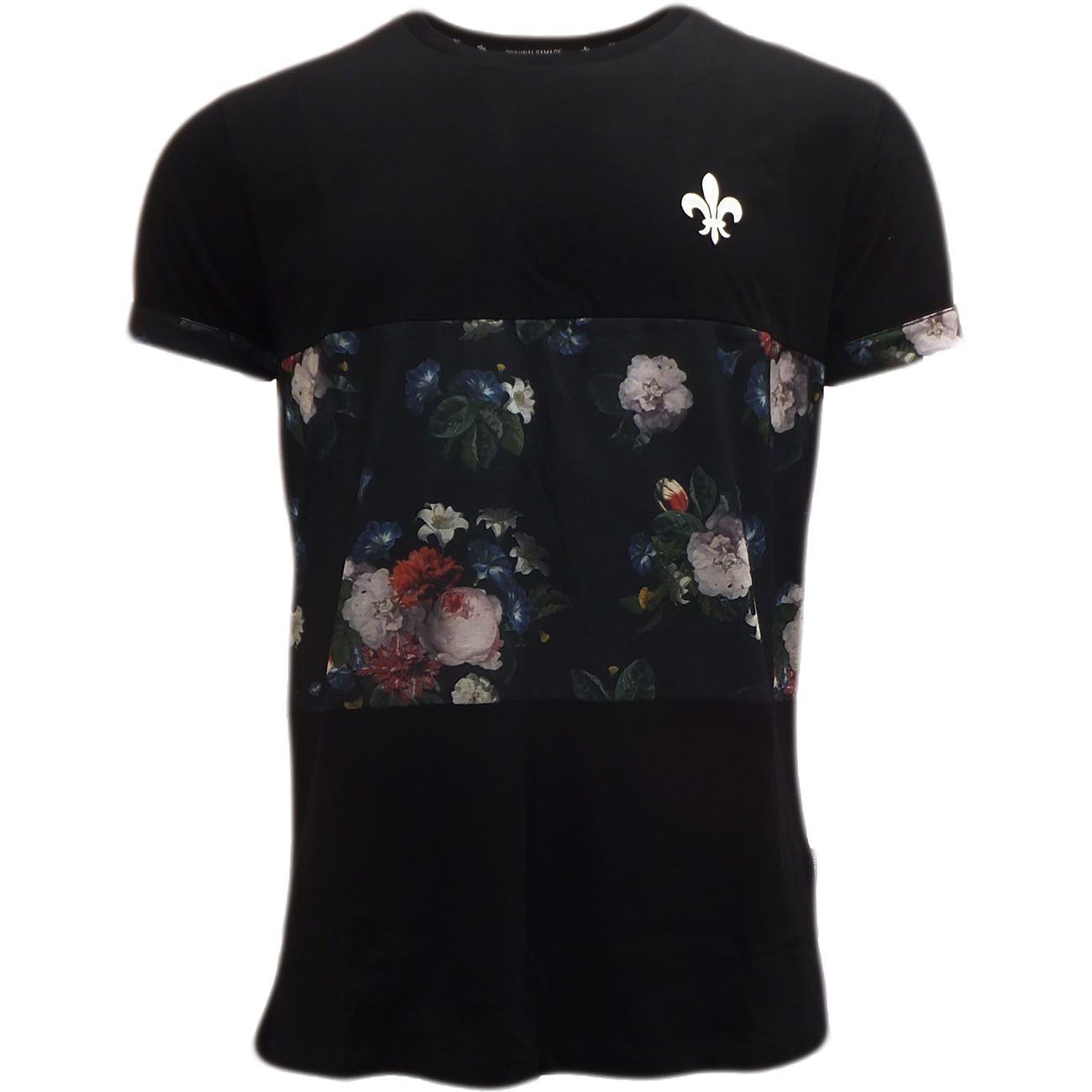 criminal damage t shirt 39 verona 39 black t shirts mr h menswear. Black Bedroom Furniture Sets. Home Design Ideas