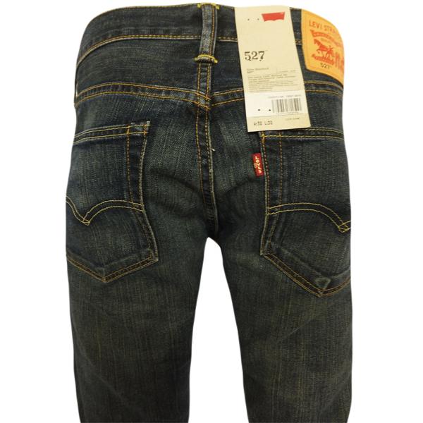 jeans levi 39 s 527 bootcut dusty black. Black Bedroom Furniture Sets. Home Design Ideas