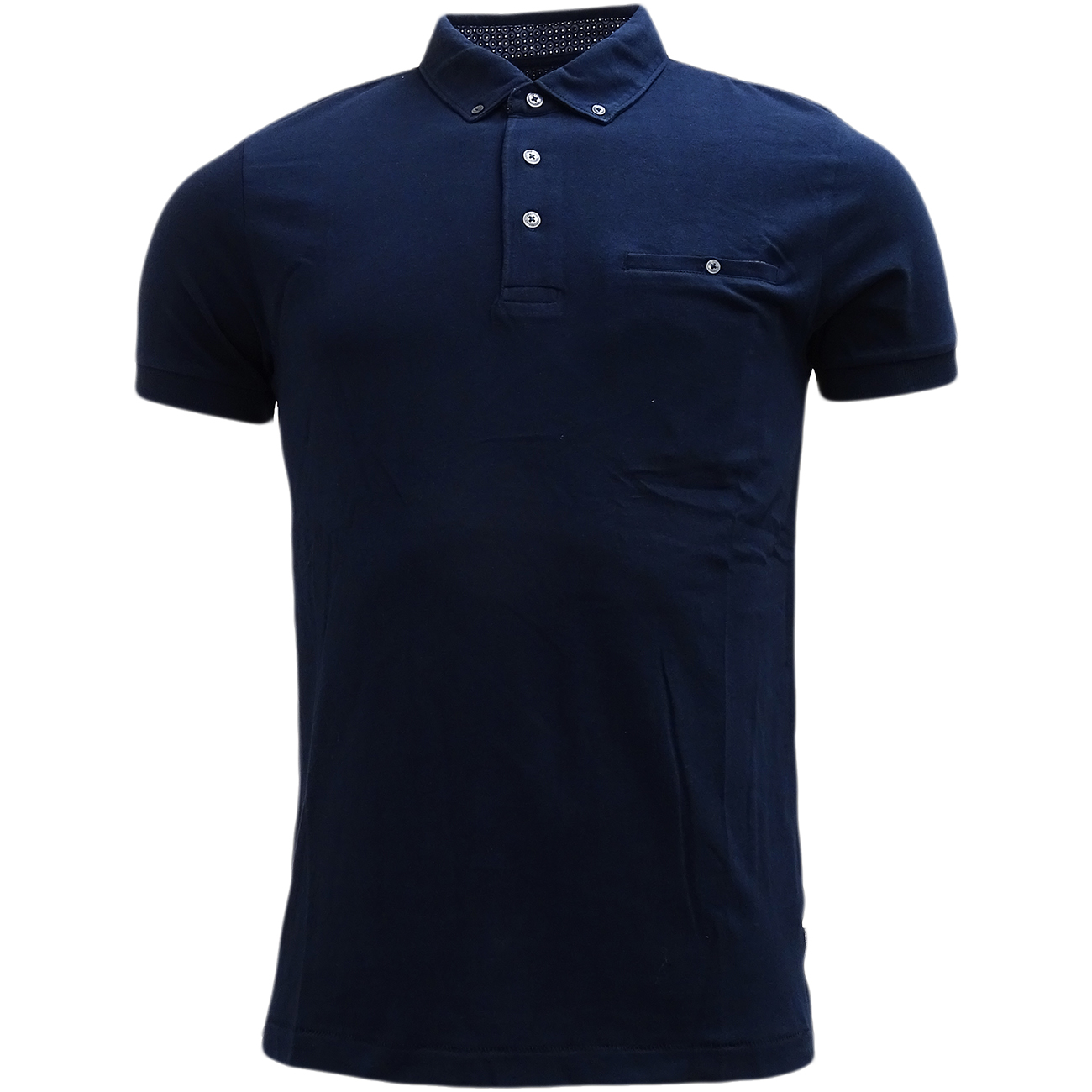 Fcuk mens polos french connection short sleeve polo shirt for French cut shirt sleeve