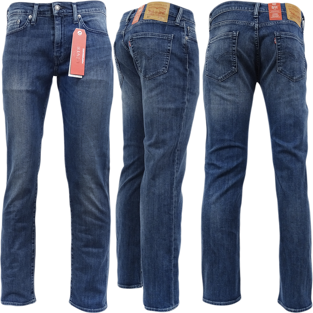 mens levis jean 511 slim fit 39 amor 39 denim pant. Black Bedroom Furniture Sets. Home Design Ideas