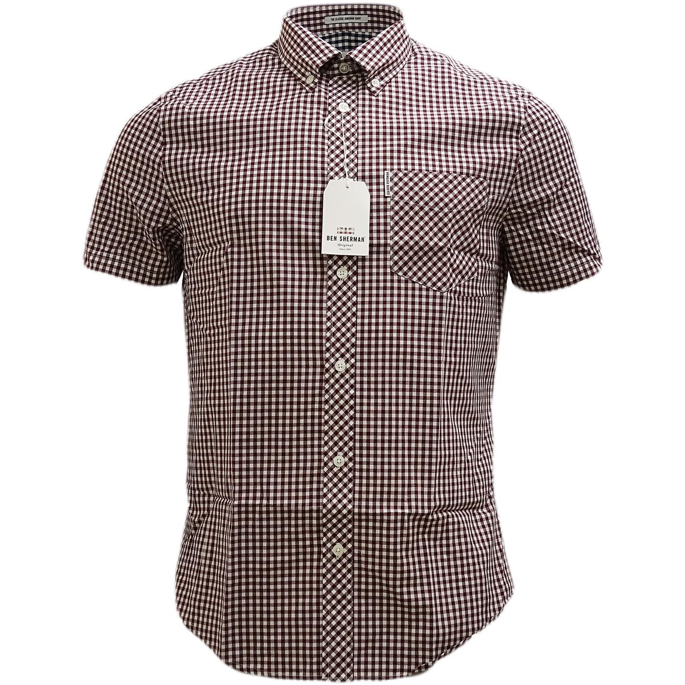 Ben Sherman Original Gingham Check Shirt Ma13603 Ben