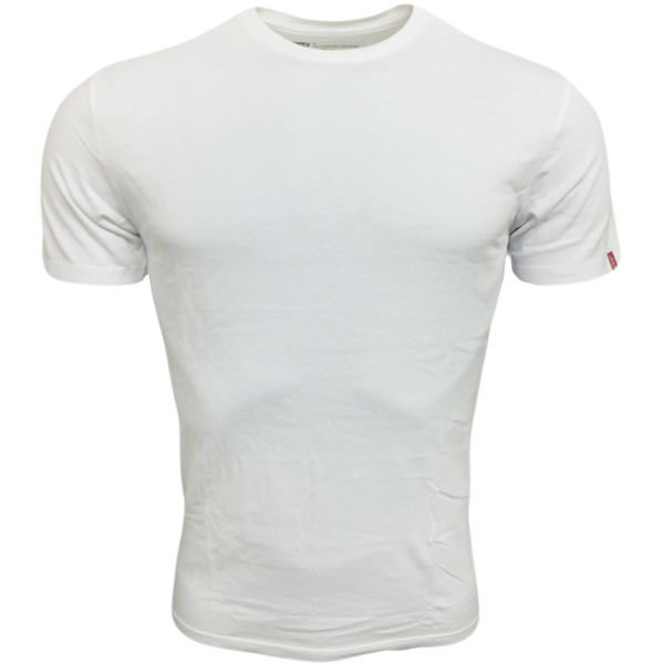 Mens plain t shirts levi strauss levi 39 s crew neck slim fit new for Mens black levi shirt
