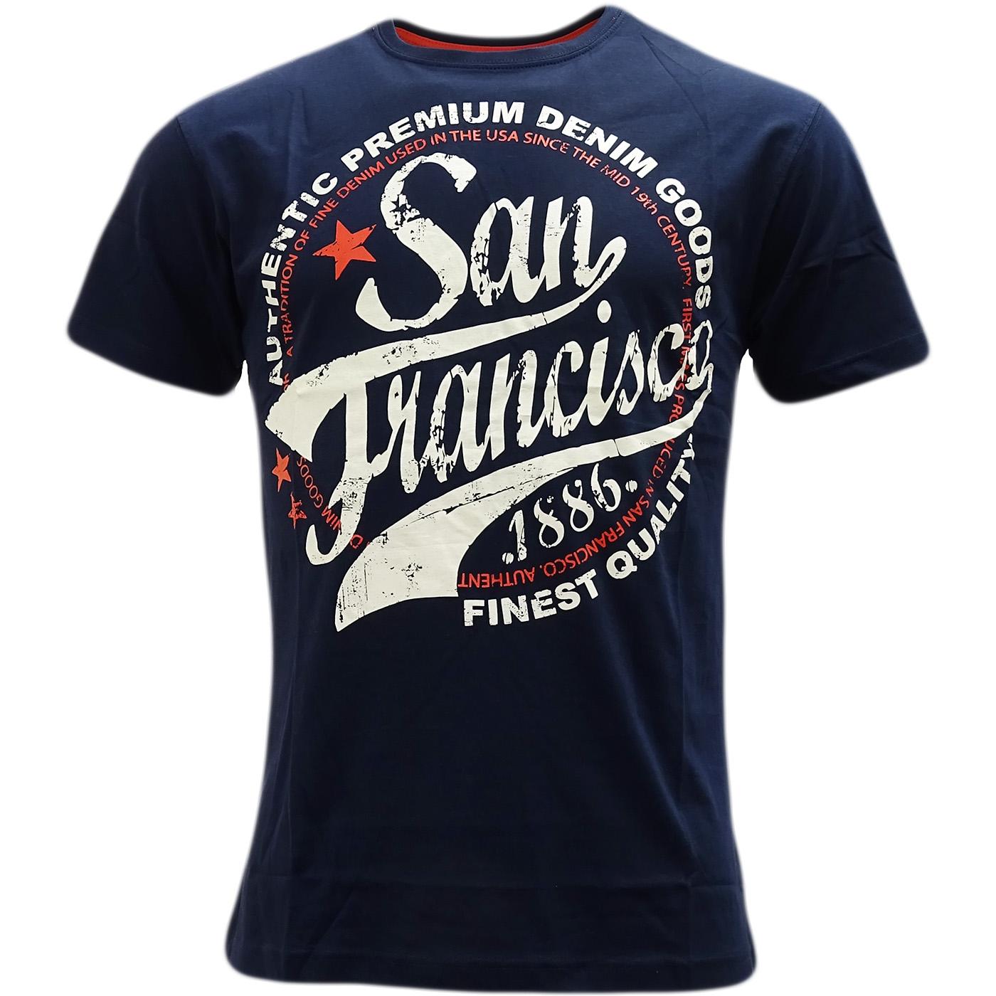 Cargo designer top t shirt san francisco ebay for Bespoke shirts san francisco