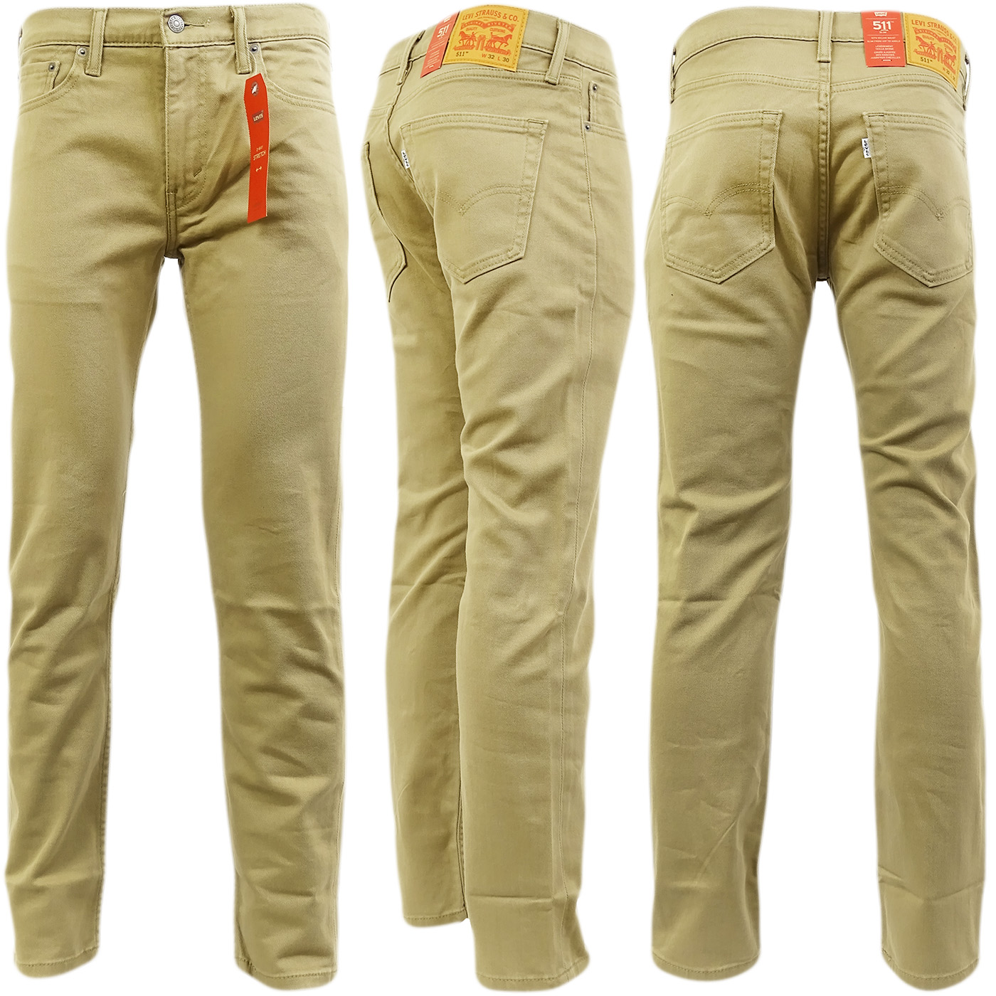 Strauss 44Ebay Levi 511 Leg Slim Beige Jean 22 UjMLzpSVGq