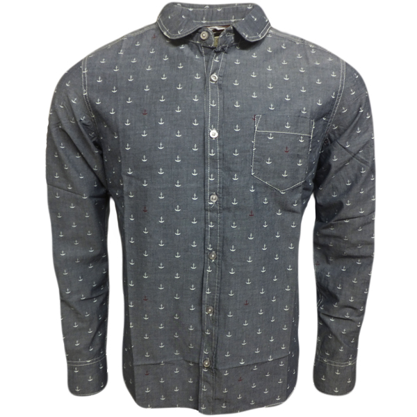 Mens Shirts Brave Soul Long Sleeve Shirt Smart Casual