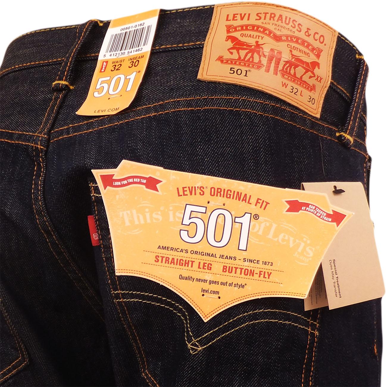 mens levi 39 s jeans 501 marlon levi strauss denim trouser. Black Bedroom Furniture Sets. Home Design Ideas