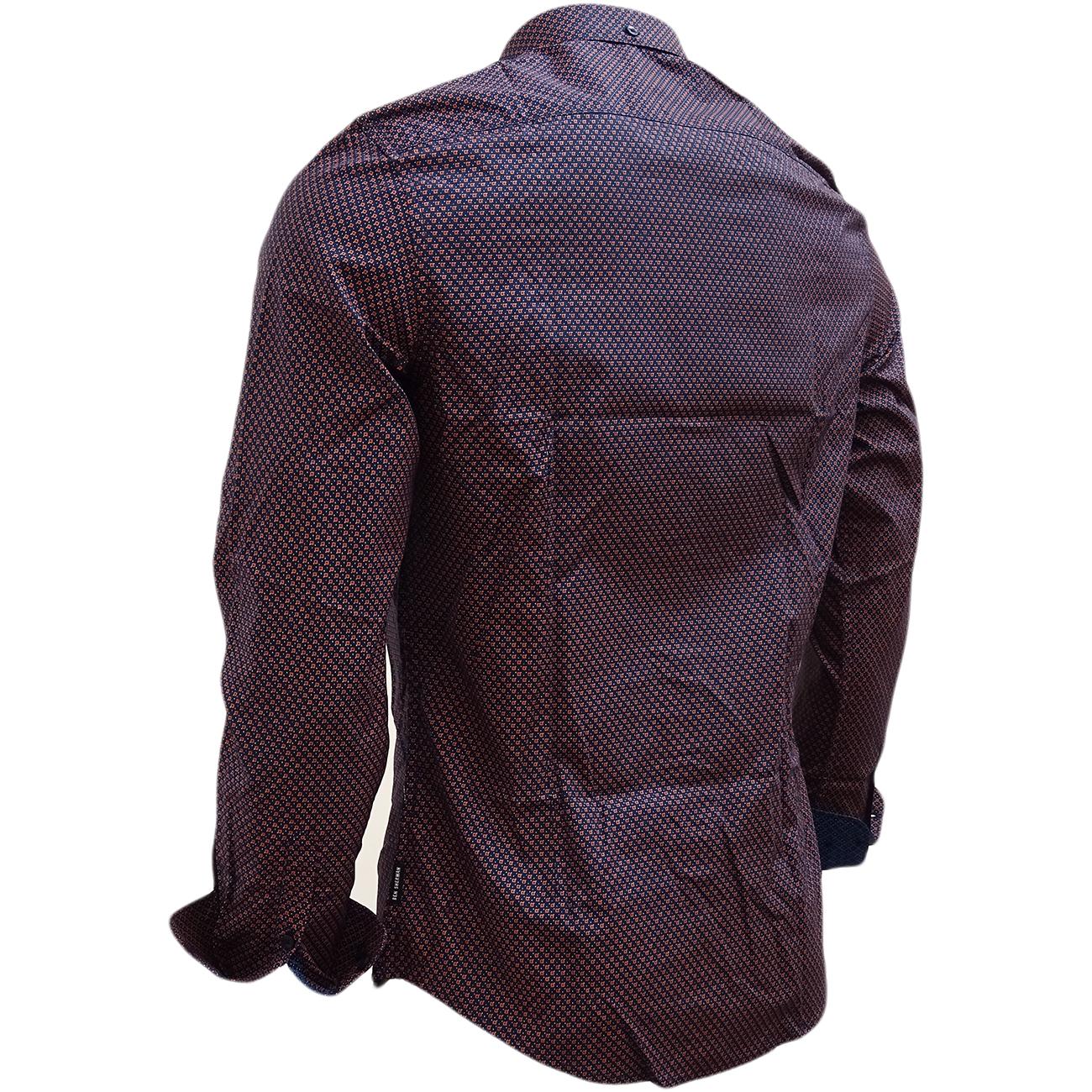 Ben Sherman Shirt Mens Long Sleeve Shirts S M L XL XXL