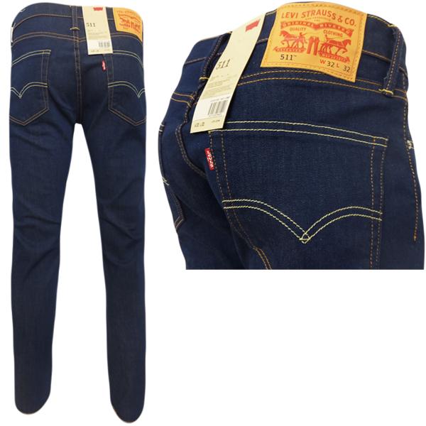 Jeans levi's 511 slim moss blue