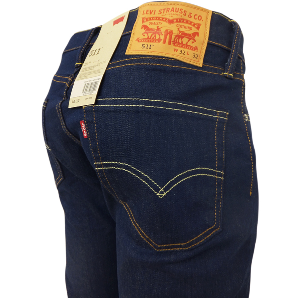 mens jeans levi 39 s 511 slim fit jean classic tapered leg. Black Bedroom Furniture Sets. Home Design Ideas