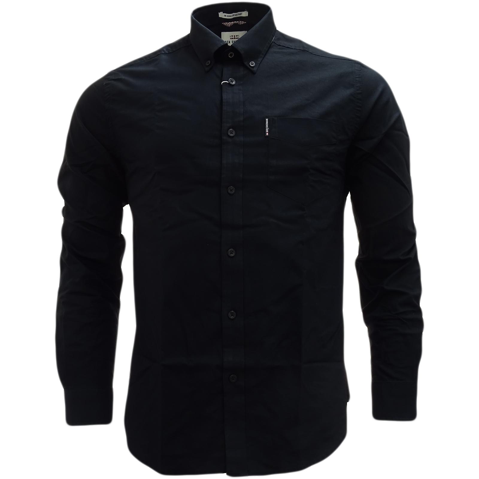 Ben Sherman Plain Button Down Oxford Shirt 47927