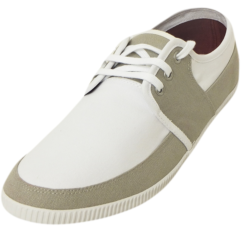 Mirak Girls 99248 Fastening Plimsoll Sneaker Trainer White Sml