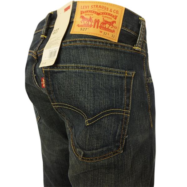 Levi's jeans 527 bootcut dusty black