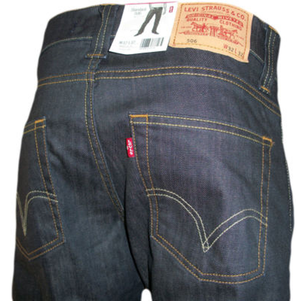 Levi's 506 Diamond Stretch 17