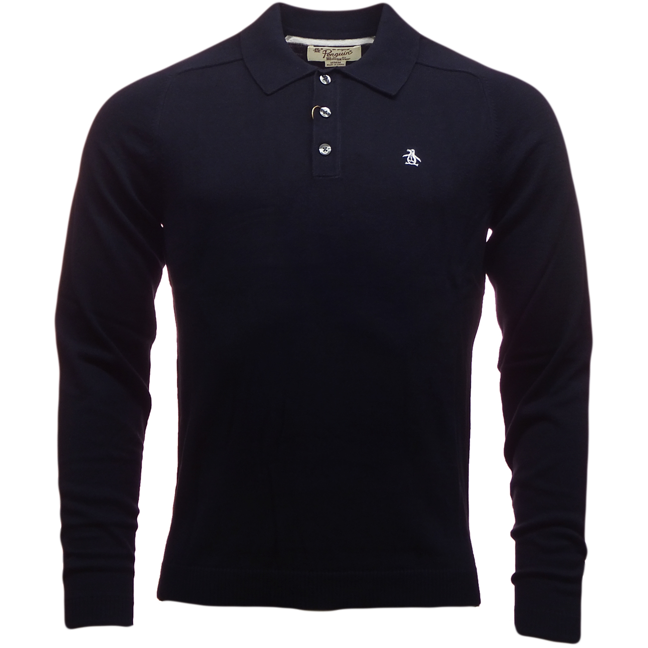 Mens penguin polos new original knitted long sleeve polo for Von maur mens shirts