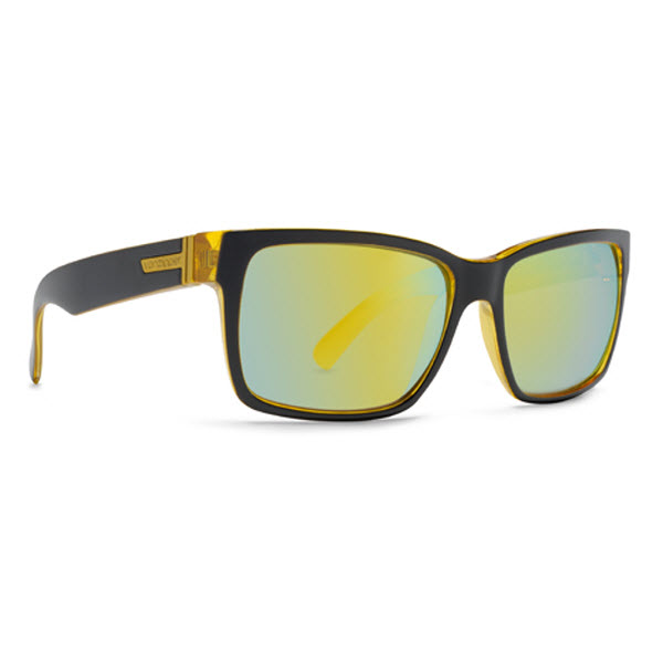 3cfffe8e15cb Von Zipper Elmore Sunglasses Banana Bake Galaxy Chrome Lens on PopScreen