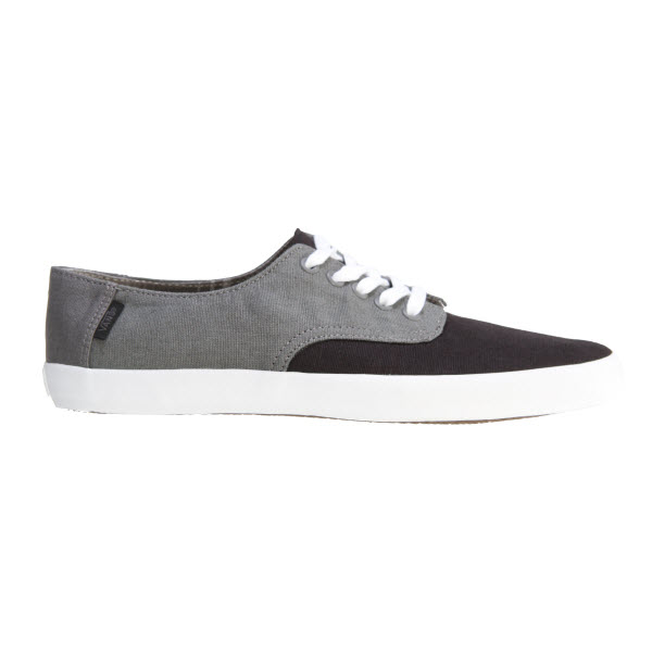 Vans E-Street Shoes in Black Pewter