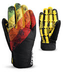 Dakine Crossfire snowboard Ski Gloves Stripes 2010 Large