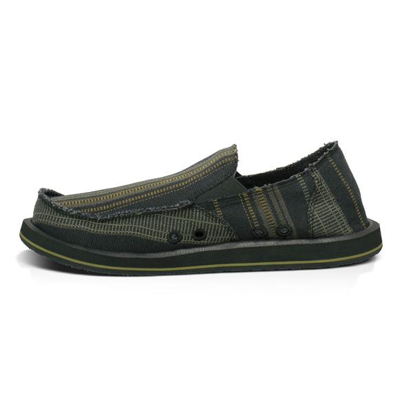 sanuk donny shoes sandals sidewalk surfer 2012 in black