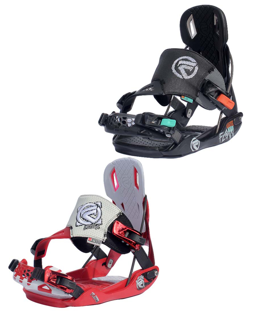 Flow Five SE Snowboard Bindings 2013 Reclining High Back
