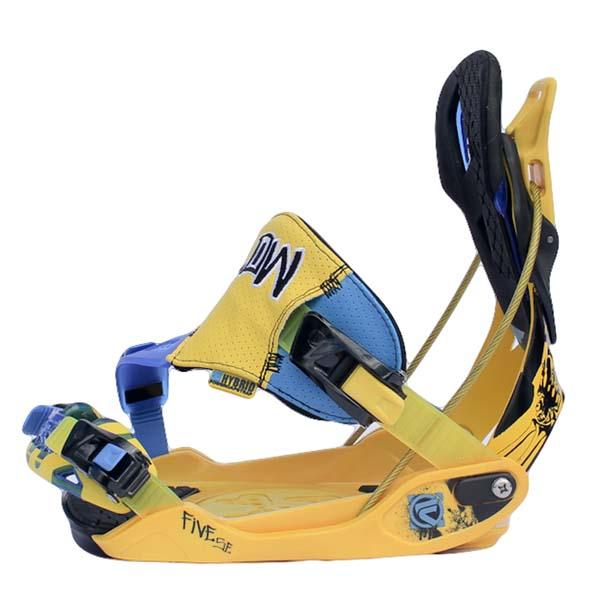 Flow FIVE SE Snowboard Bindings 2013 Yellow