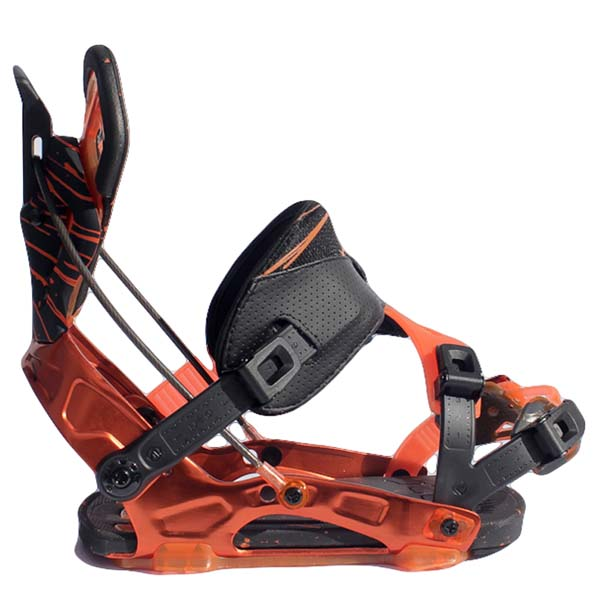 Flow NX2-SE Snowboard Bindings Black Orange 2013