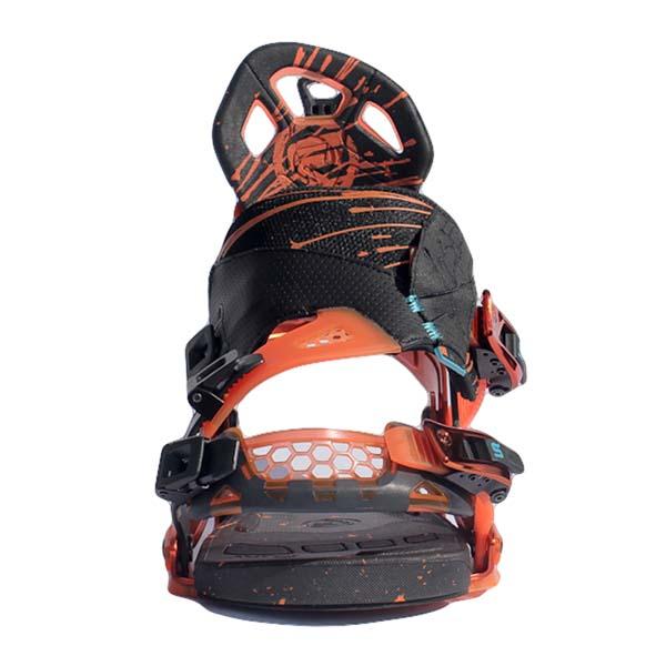 Flow NX2-SE Snowboard Bindings Black Orange 2013