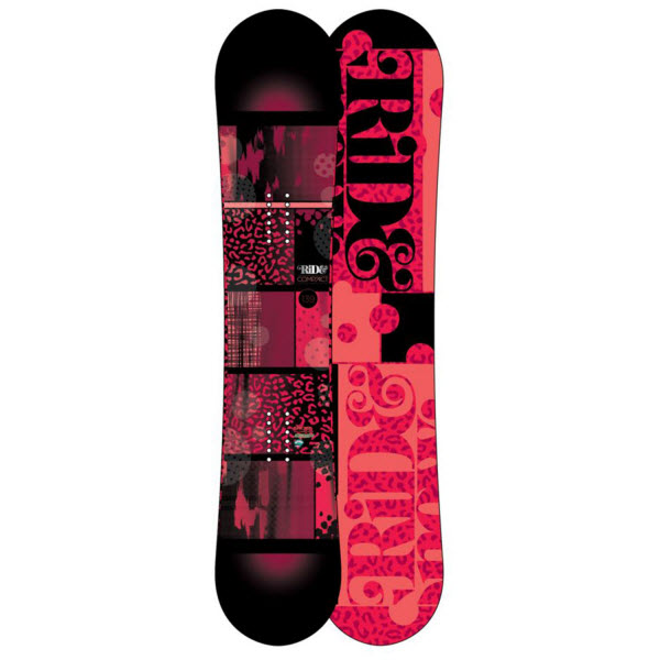 Ride Compact Womens Rocker Freestyle Snowboard 2013