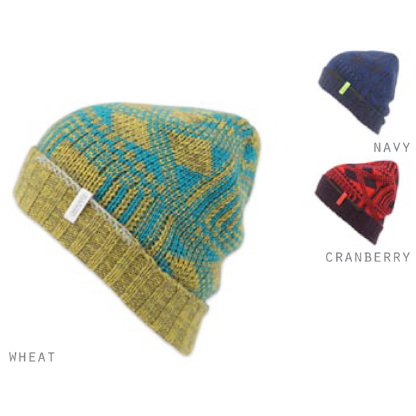 Product image of Ignite Stitch Cuff Beanie Various Colours