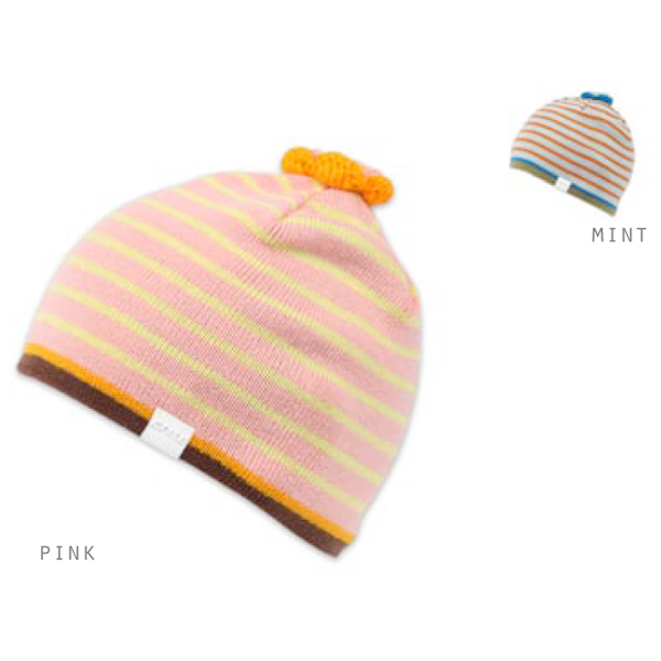 Product image of Ignite Kids Flower Striped Beanie Various Colours Autumn/Winter 2012