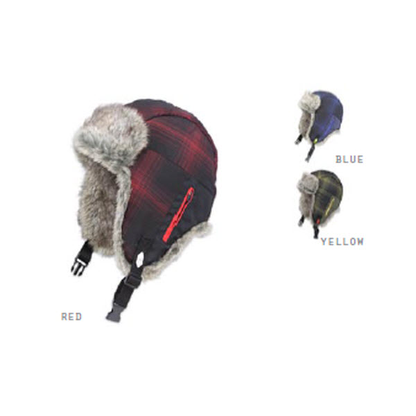 Product image of Ignite Plaid Trapper Hat Quiled Faux Fur 2012 L/XL