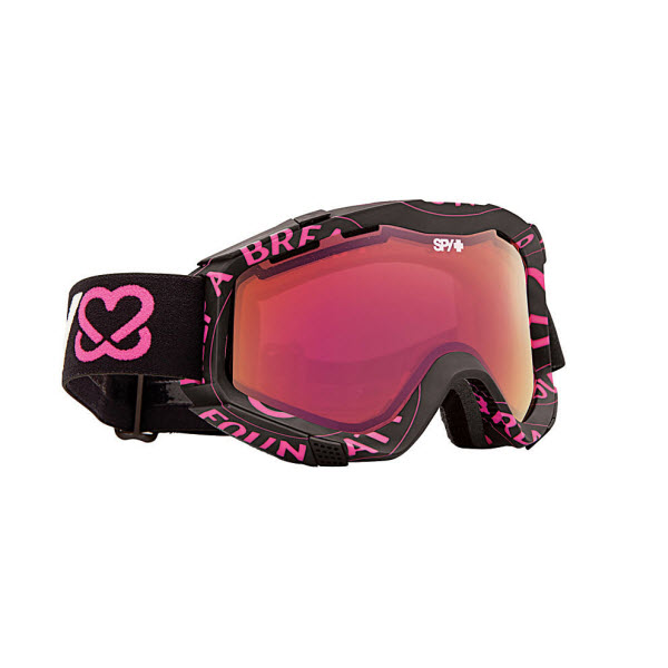 Product image of Spy Zed Keep A Breast Snowboard Ski Goggles Pink Spectra Mirror