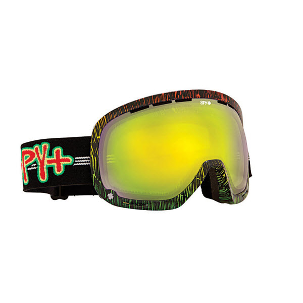 Product image of Spy Marshall Sailin On Snowboard Ski Goggles Yellow Green Spectra 2013
