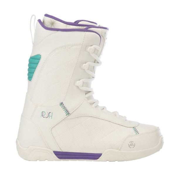 Product image of K2 Plush Lace Up Womens Snowboard Boots White