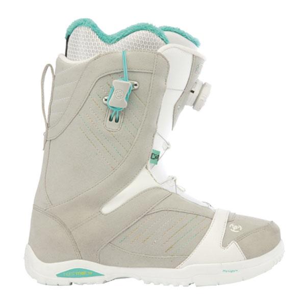 k2 sapera boa womens snowboard boots new grey 2013 various