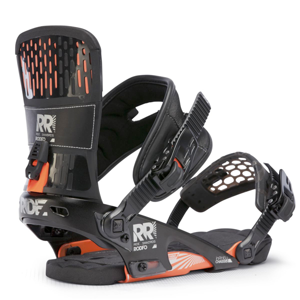 Ride Rodeo Snowboard Bindings New Black 2013 Freestyle