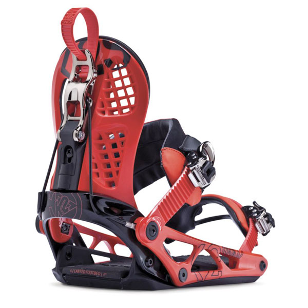 K2 Cinch CTS 2014 Snowboard Bindings New Red 2014
