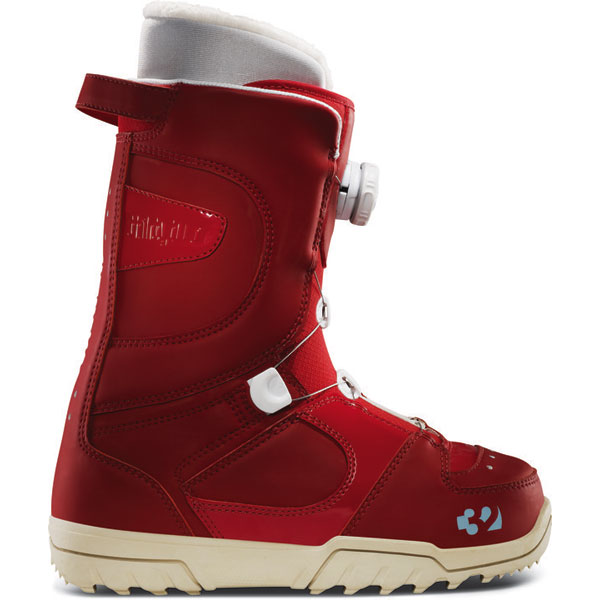 32 ThirtyTwo STW Boa Womens Snowboard Boots 2013 in Red