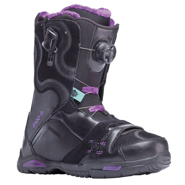 K2 Passage BOA 2014 Sample Womens Snowboard Boots New Black Uk 5.5