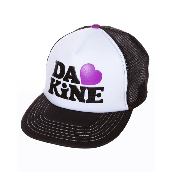 Product image of Dakine Lovely Trucker Womens Snap Back Cap Hat 1 Size Fits most Black