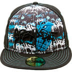 Grenade X Stash Cap Hat Blue Various Sizes 7 5/8, 7 1/2