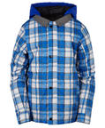 686 Youth Boys Lumber Insulated Snowboard Ski Jacket - Cobalt Medium Age 10/12